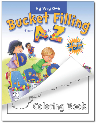 Bucket Filling from A to Z Coloring Book